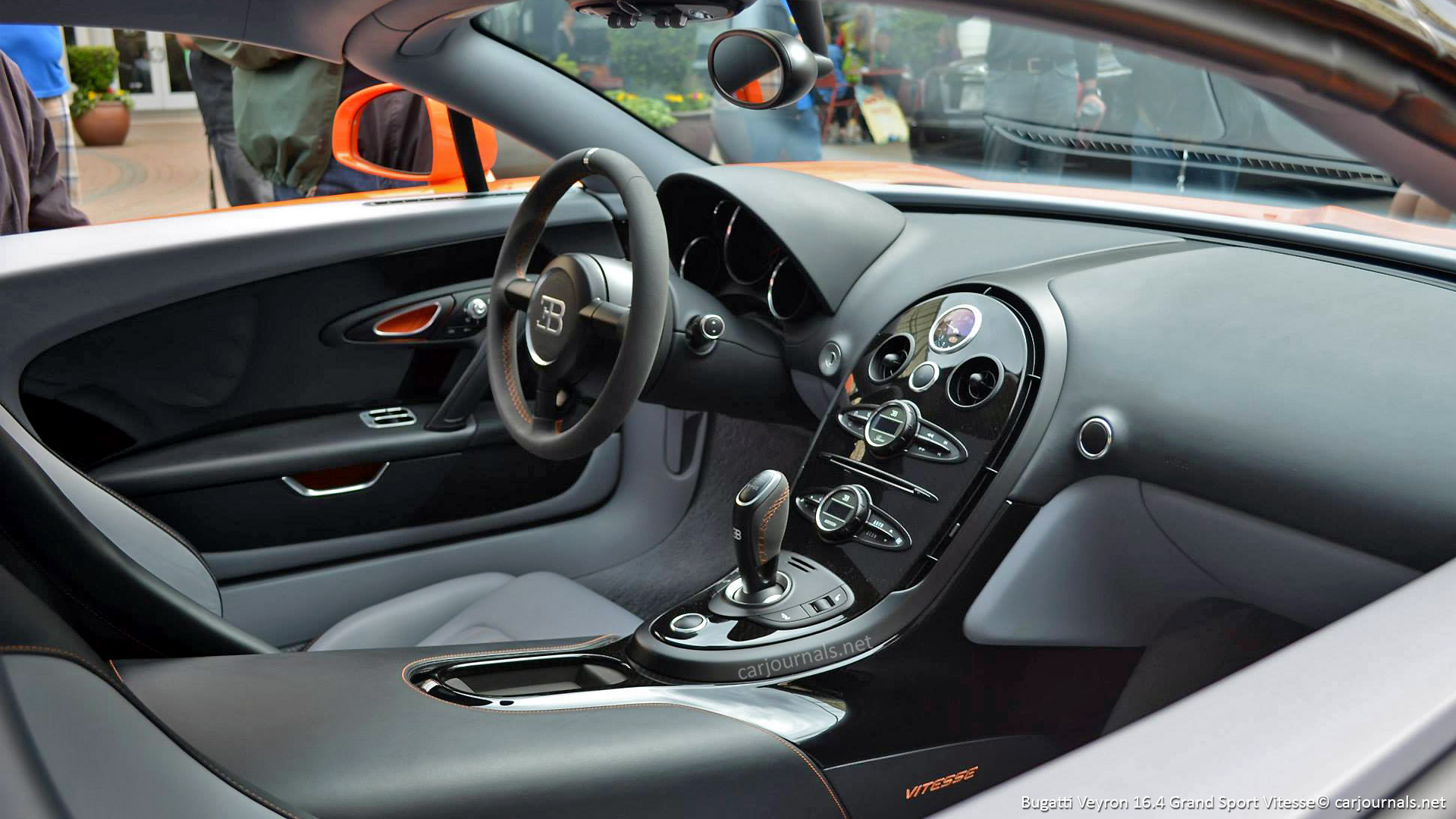 Bugatti Veyron 164 Grand Sport Vitesse Interior   HD Wallpaper 1920x1080