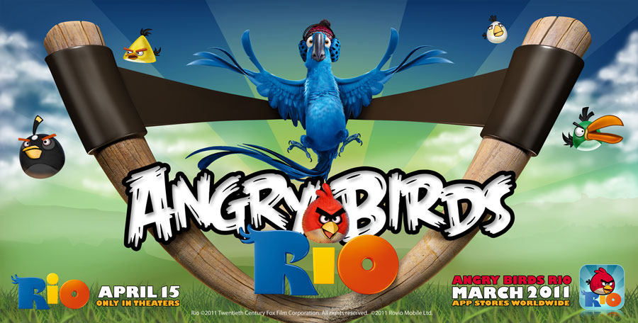 Download Angry Birds Rio Movie Wallpapers and Windows 7 Themes 900x456