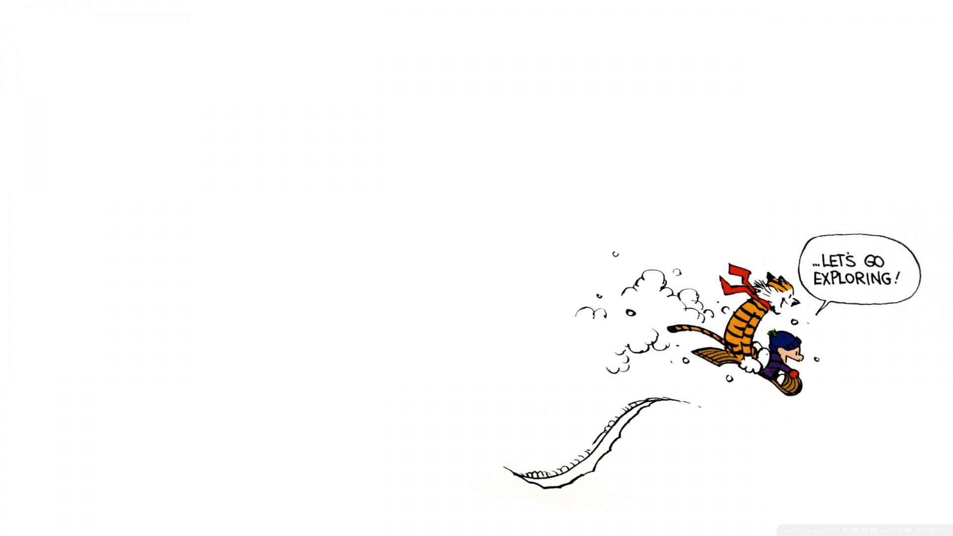 49 Calvin And Hobbes Wallpaper 1920x1080 On Wallpapersafari