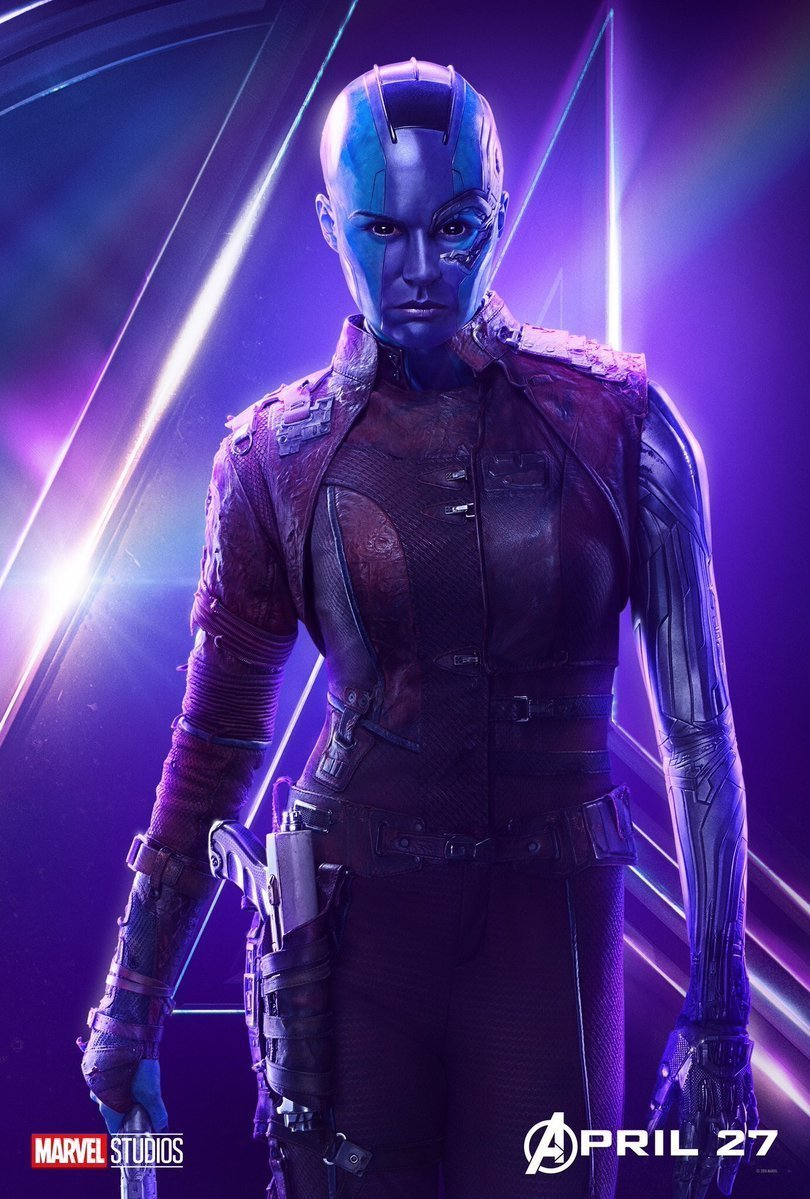 The Avengers images Avengers Infinity War   Nebula Poster HD 810x1199