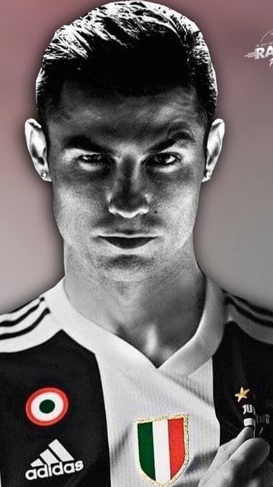 Wallpaper Cristiano Ronaldo Juventus iPhone 2021 3D iPhone Wallpaper 1080x1920