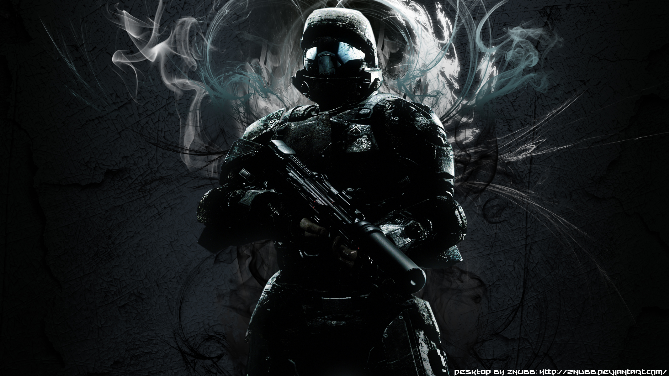 Free Download Halo 3 Odst Wallpaper By Znubb 2133x1200 For Your