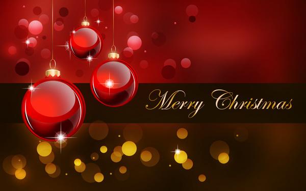 Photoshop Tutorial Merry Christmas Background 600x375