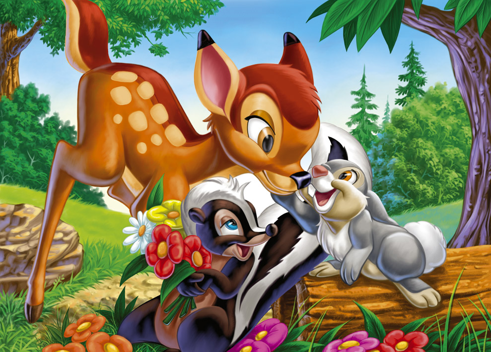 Pin Disney Wallpaper Bambi 1366x768 Picture 989x709