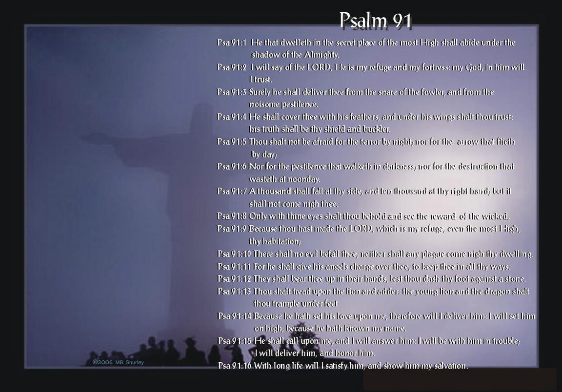 Psalm 91 Desktop Wallpaper Inspiration Pinterest 1152x804