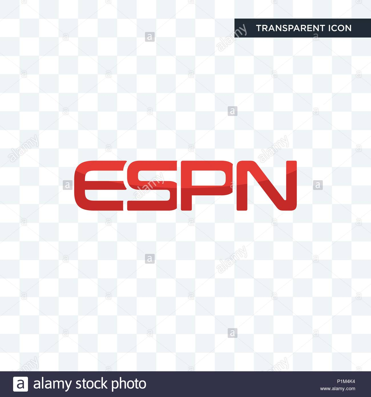 espn vector icon isolated on transparent background espn logo 1300x1390