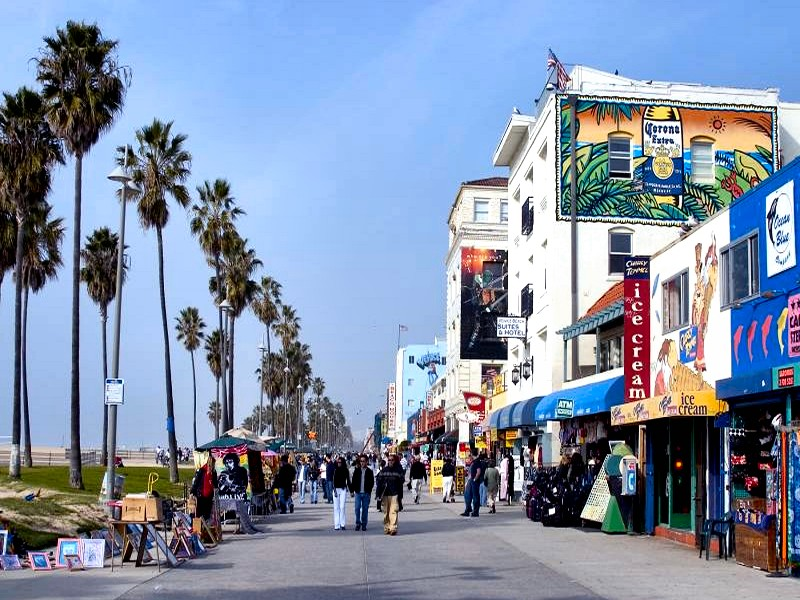 venice beach california by puddlz 800x600