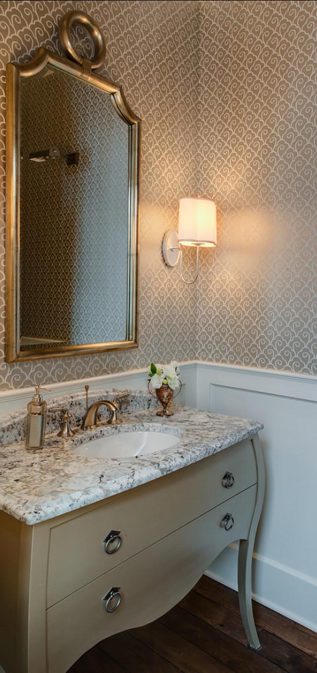 Powder Room Wallpaper Elegant Powder Room Wallpaper Wallpapersafari