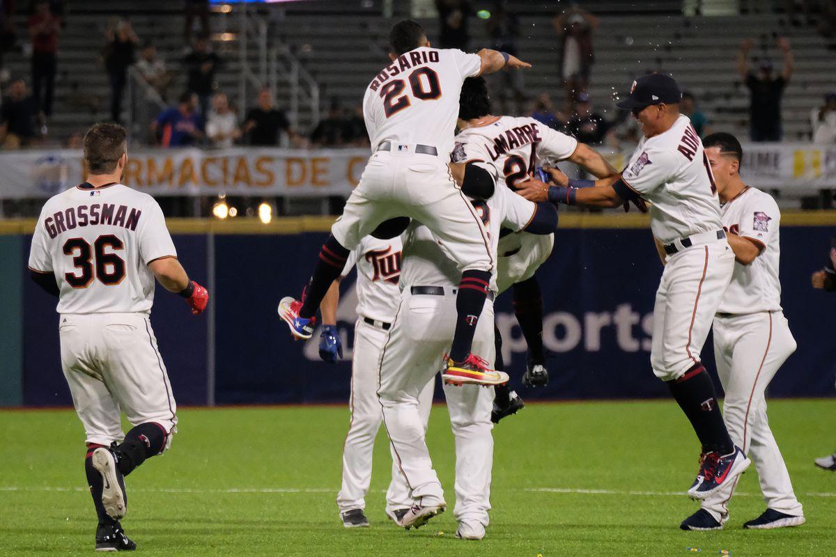 Twins 2 Indians 1 Eddie Rosario scores winning run in 16 inning 1200x800