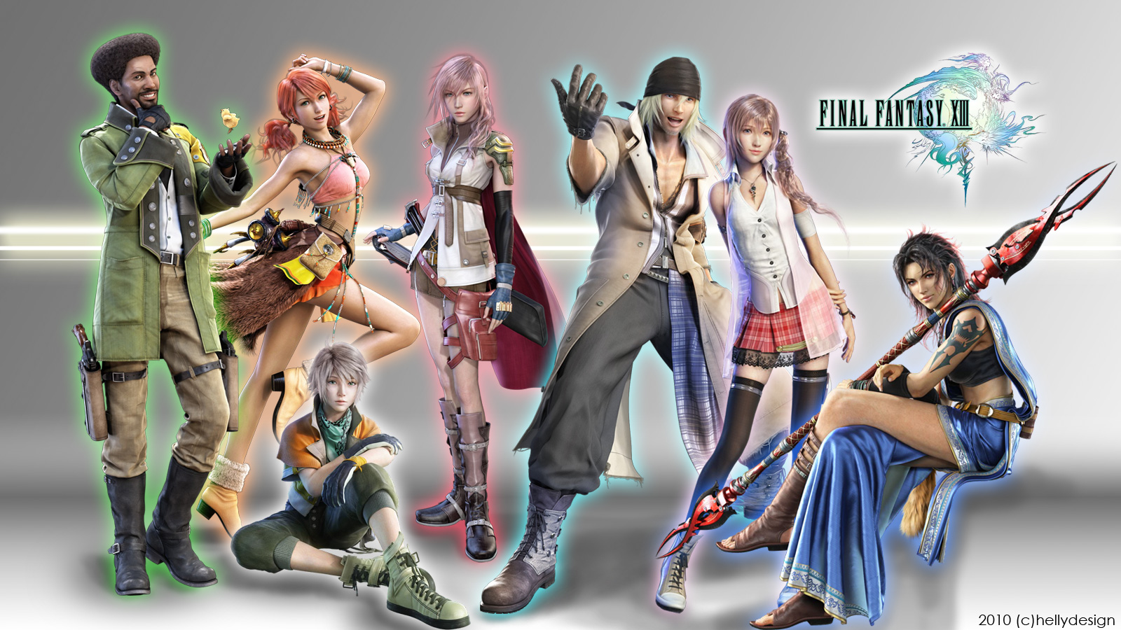 Rich Reviews Everything Final Fantasy XIII PS3 1600x900