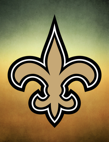 The Saints Logo Wallpaper for Phones and Tablets 450x590