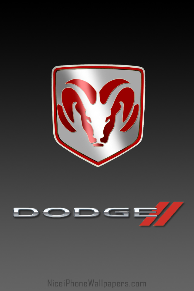 Dodge logo HD iPhone 44s wallpaper and background 640x960
