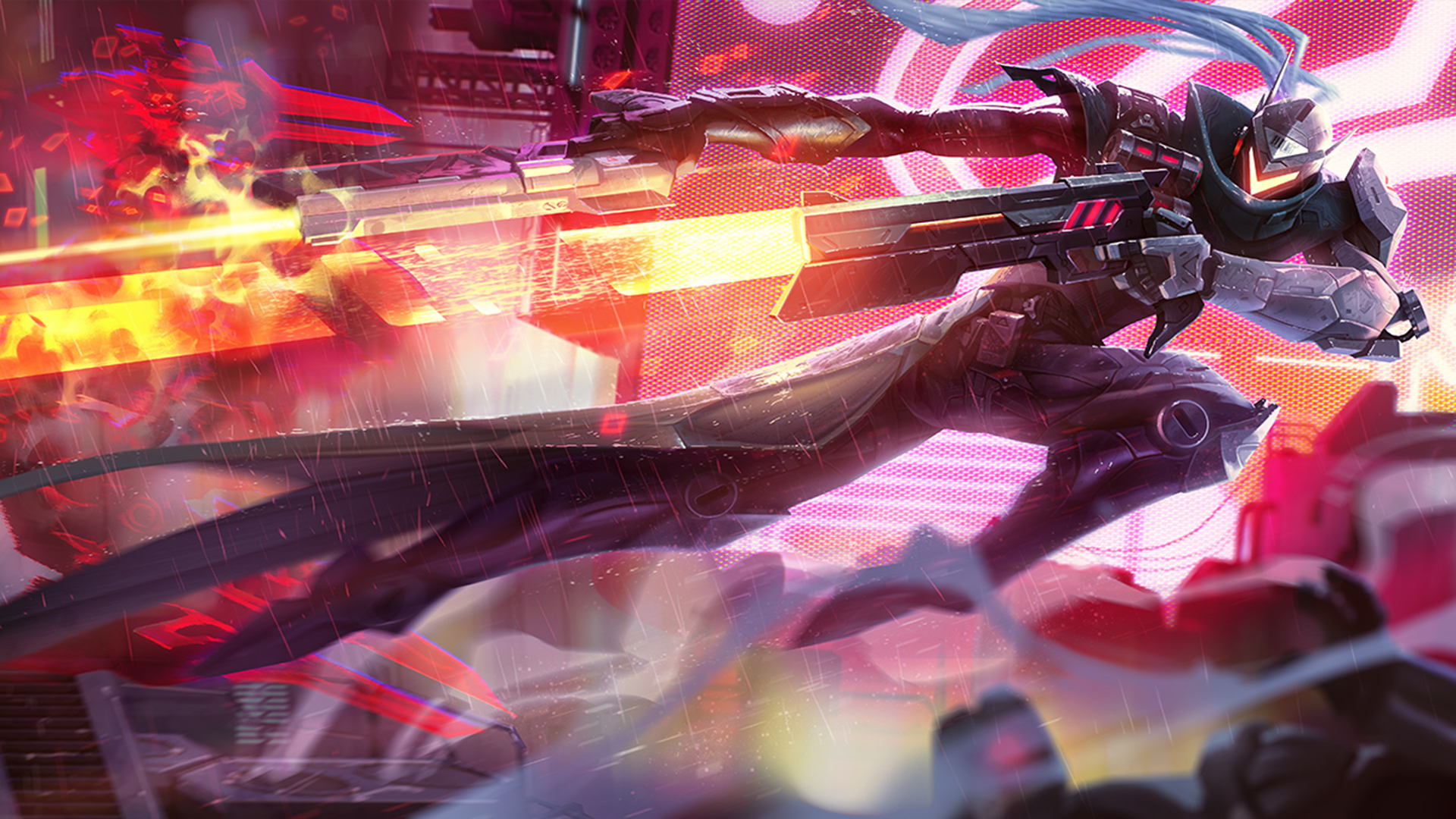 PROJECT Lucian Wallpapers HD 1920x1080 League Of Legends 1920x1080