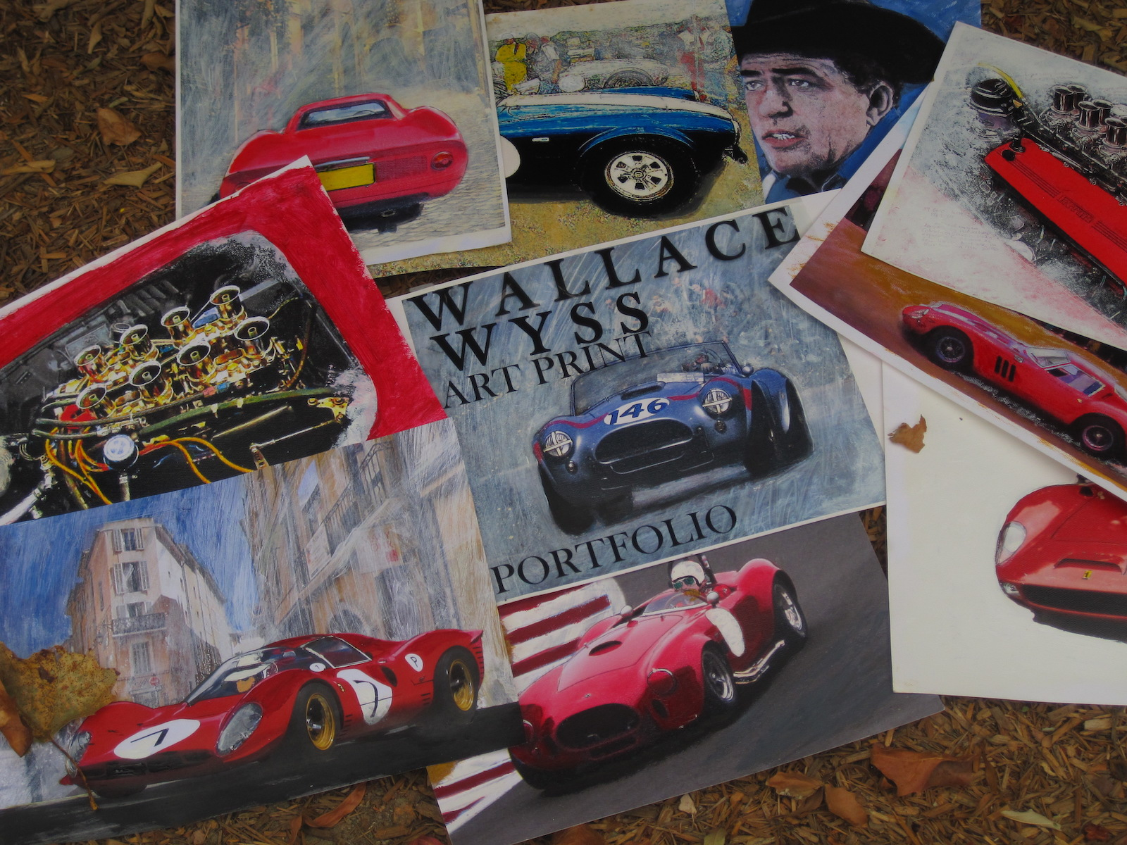 My Car Quest Contributor Packages Art of 1960s Fords and Ferraris 1600x1200