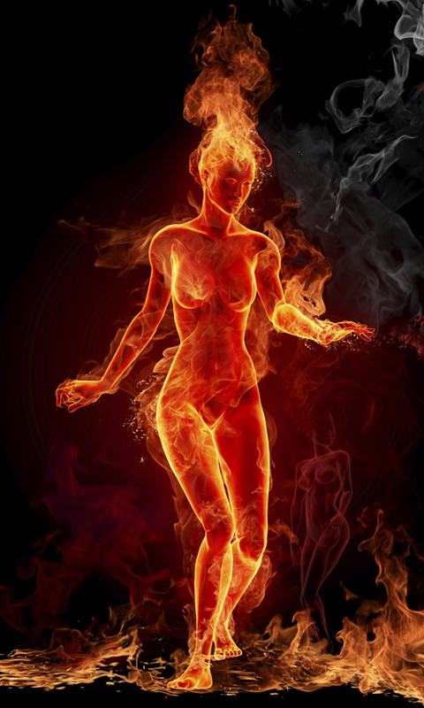 Fire Live Wallpapers Live wallpapers HD for Android software 480x800