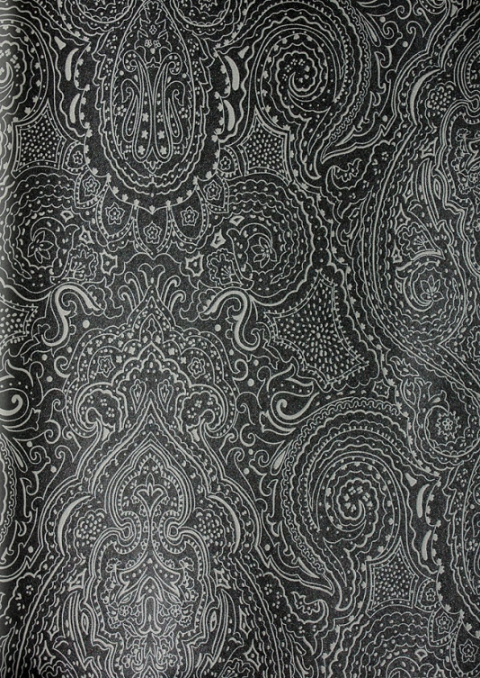 Grey Paisley Wallpaper Wallpapersafari