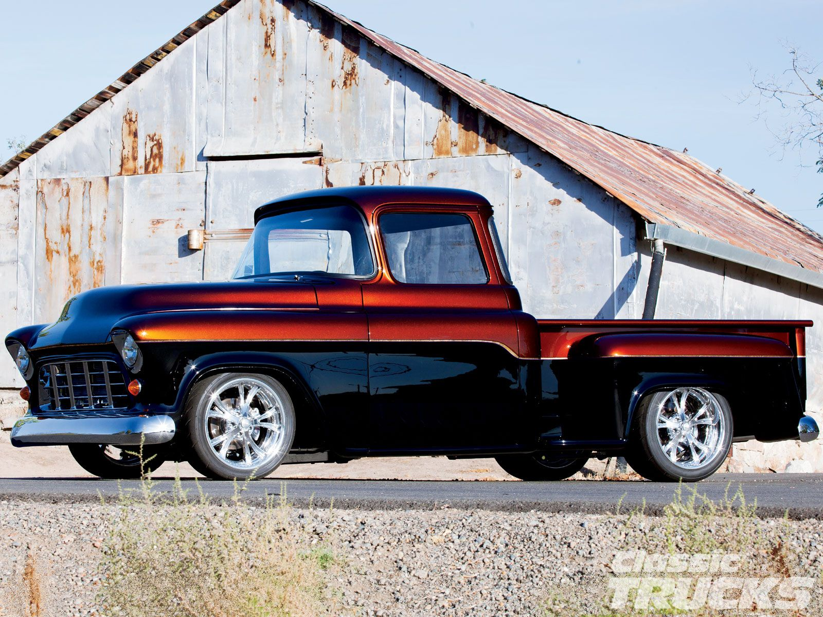 1955 Chevrolet Truck   Classic Trucks Magazine 1600x1200