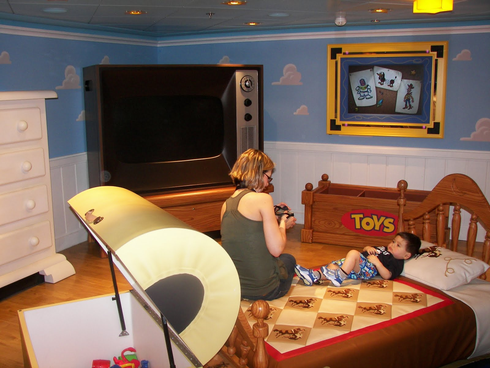 Toy Story Andys Room Wallpaper Blueridge Wallpapers