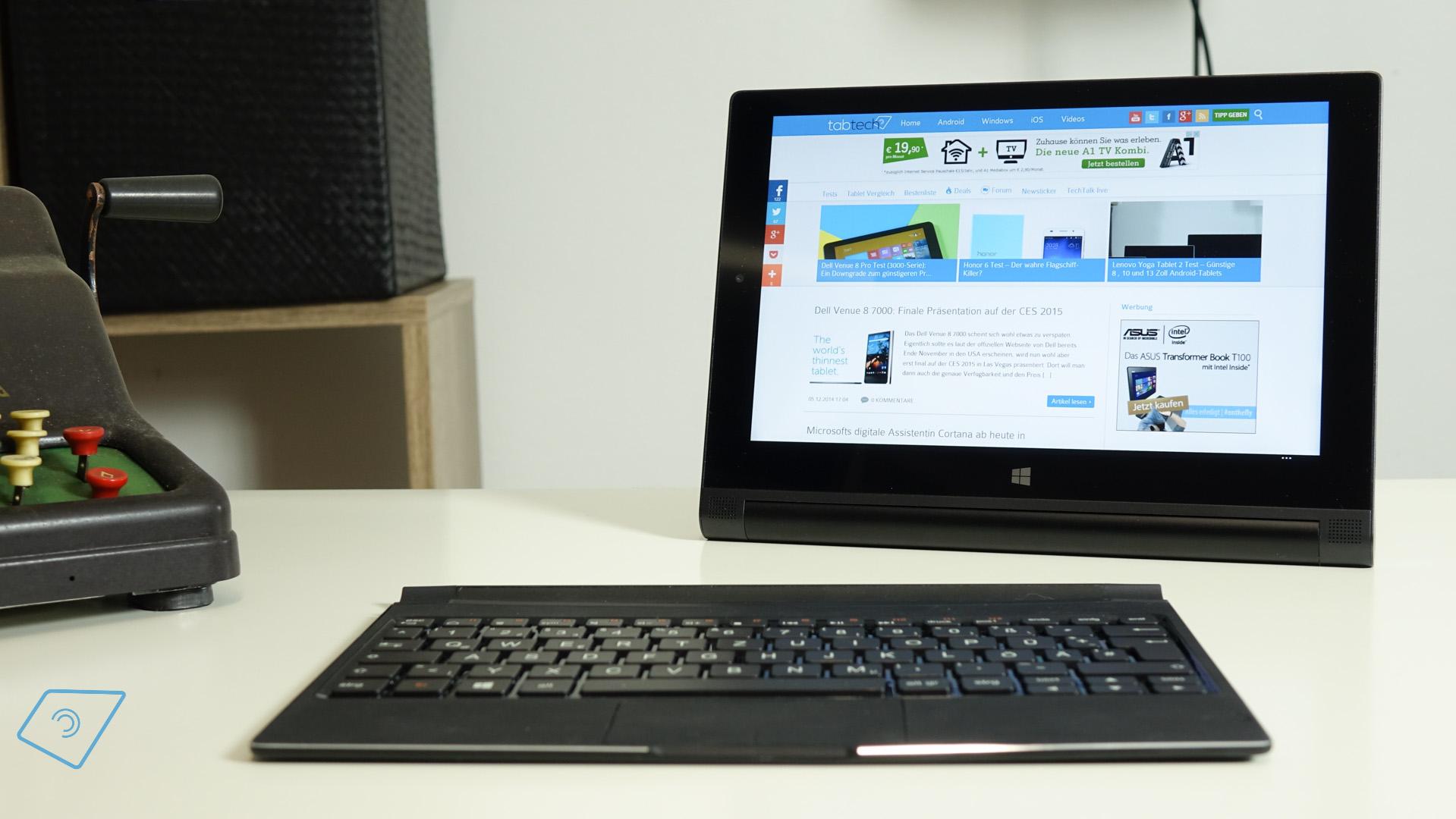 Lenovo Yoga Tablet 2 10 mit Windows 81 im Test Einfach besser 1919x1080
