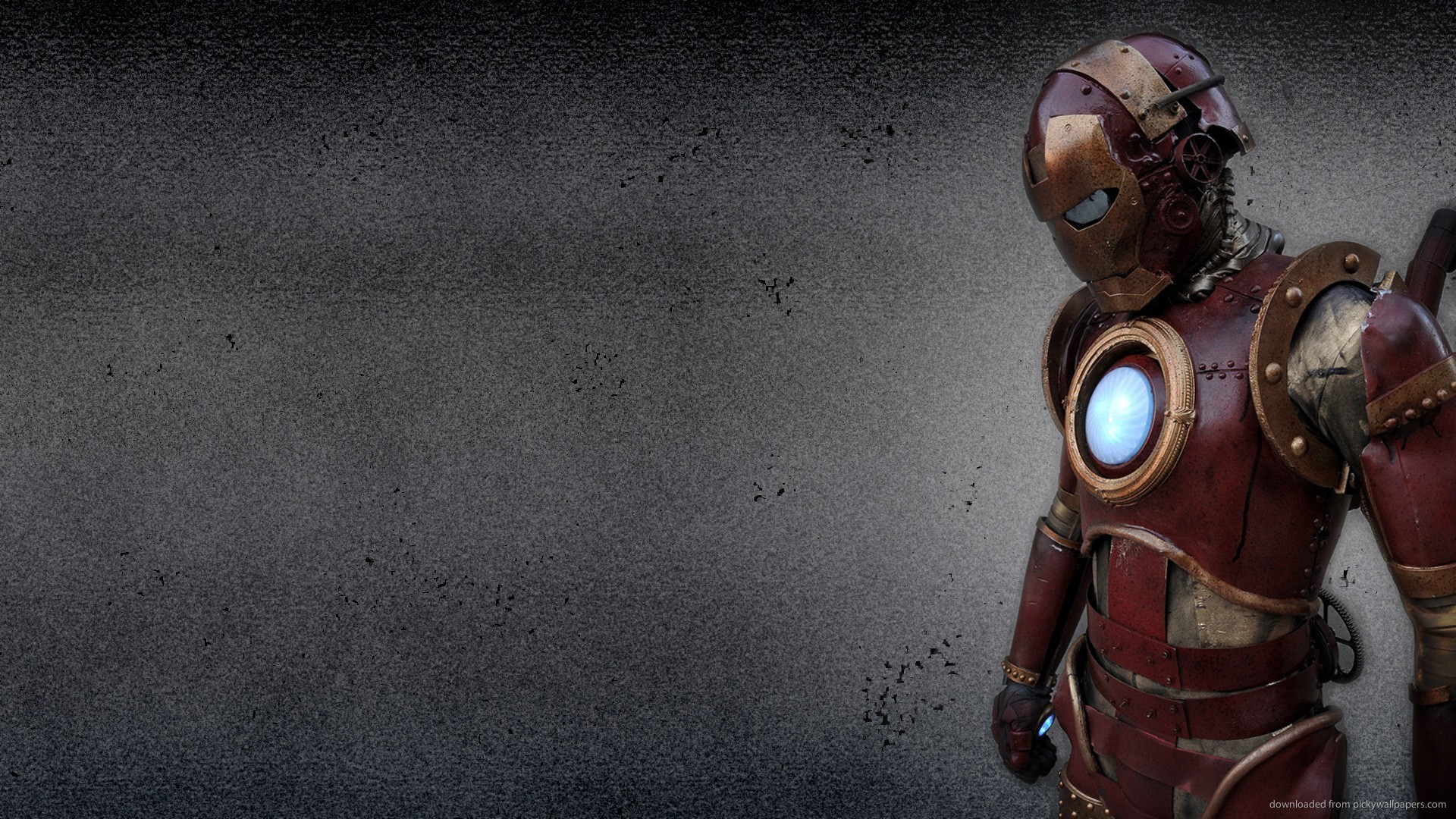 Man Steampunk Picture For iPhone Blackberry iPad Iron Man Steampunk 1920x1080