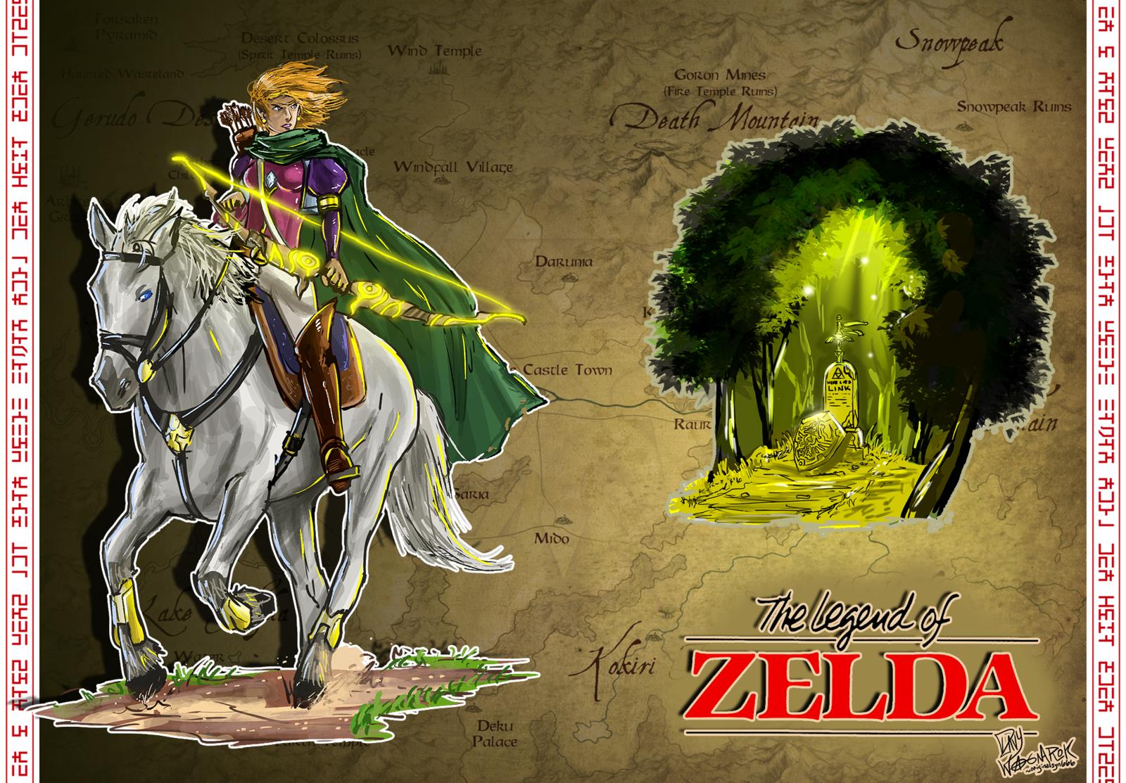 legend of zelda live wallpaper wallpapersafari