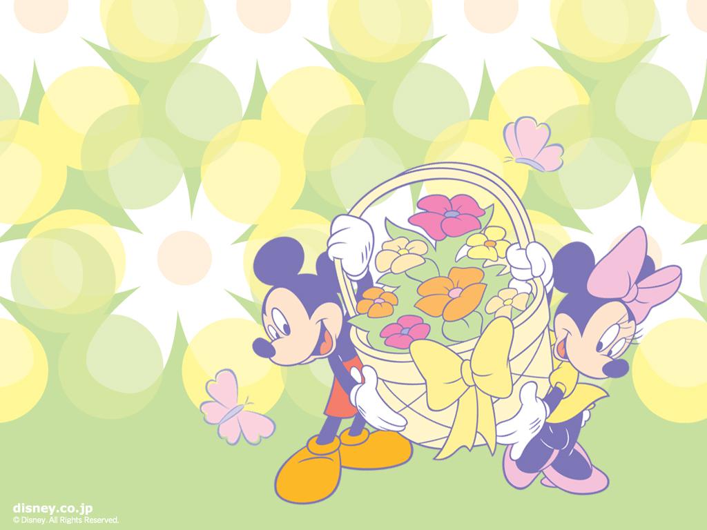 46 Mickey Mouse Easter Desktop Wallpaper On Wallpapersafari