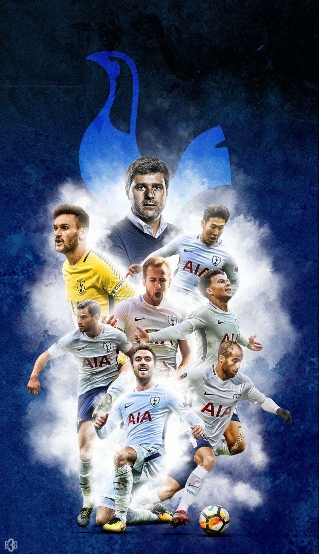 Tottenham football art tottenham logo poster club wallpaper 640x1112