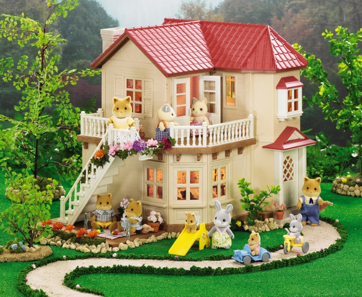 Calico Critters Townhome House wLights NEW PACKAGING 720x590
