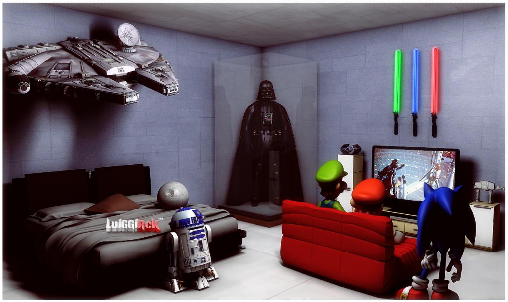 Star Wars Wallpaper Room Decor