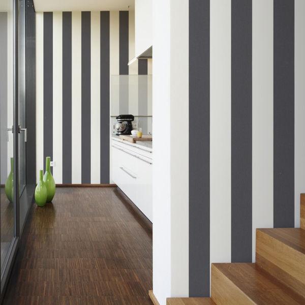 Elegance   StripedStripeyStripe Wallpaper Grey White  Looks like 600x600