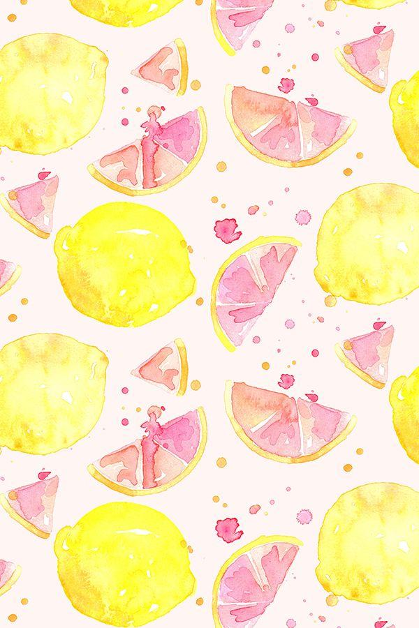 Colorful fabrics digitally printed by Spoonflower   pink lemonade 600x900