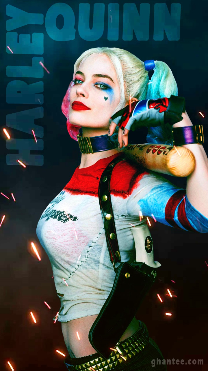 Harley Quinn Mobile Wallpaper Margot Robbie   Haley Queen 749466 720x1280