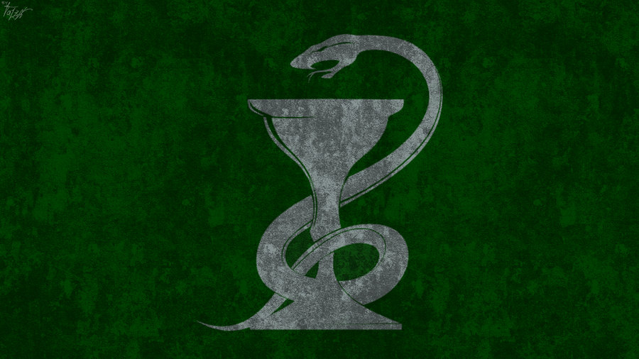 Hogwarts House Wallpaper Slytherin by TheLadyAvatar 900x506