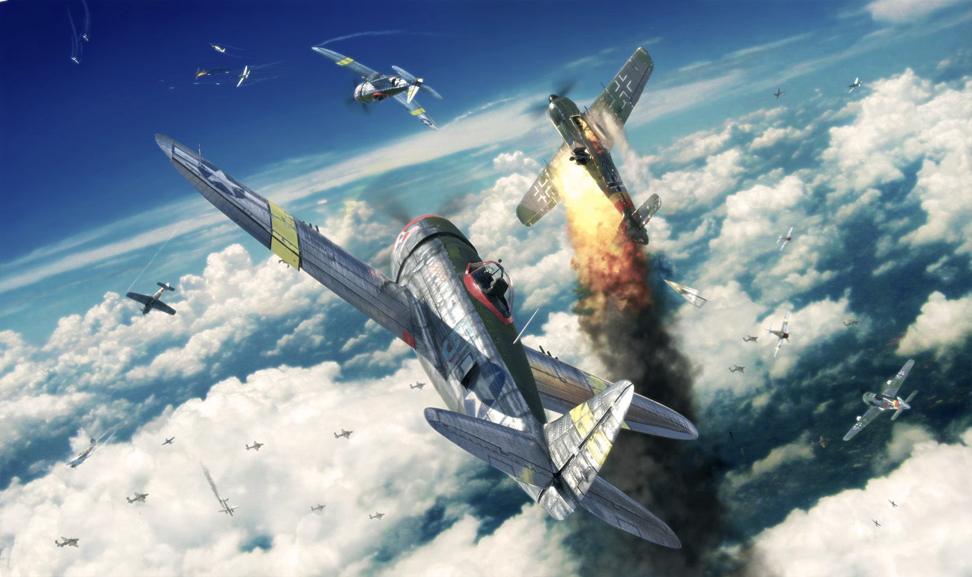 P 47 Thunderbolt Wallpaper and Background Image 1400x831 ID 1400x831