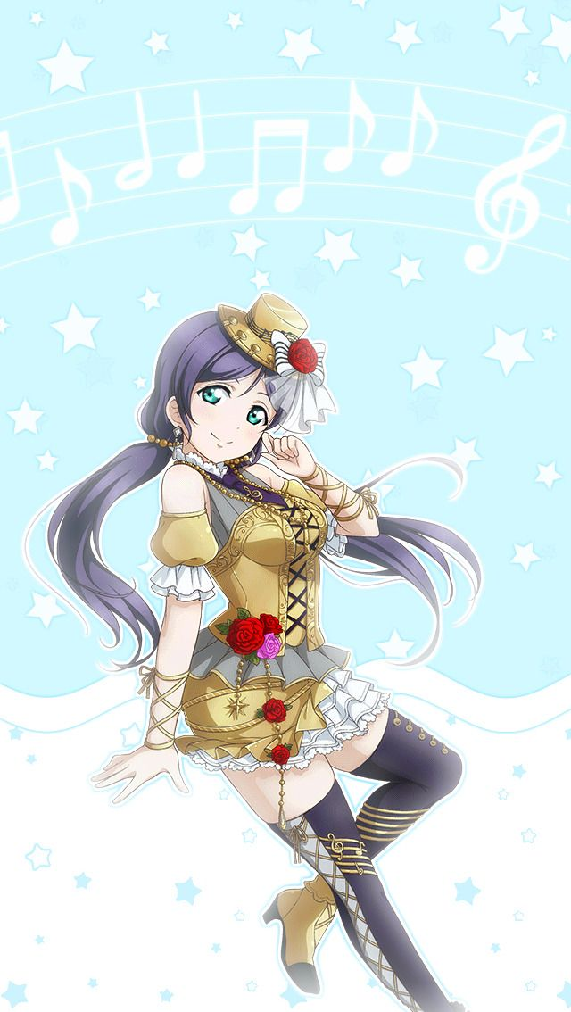 Nozomi Instrument in 2020 Cute anime wallpaper Anime stars 640x1134