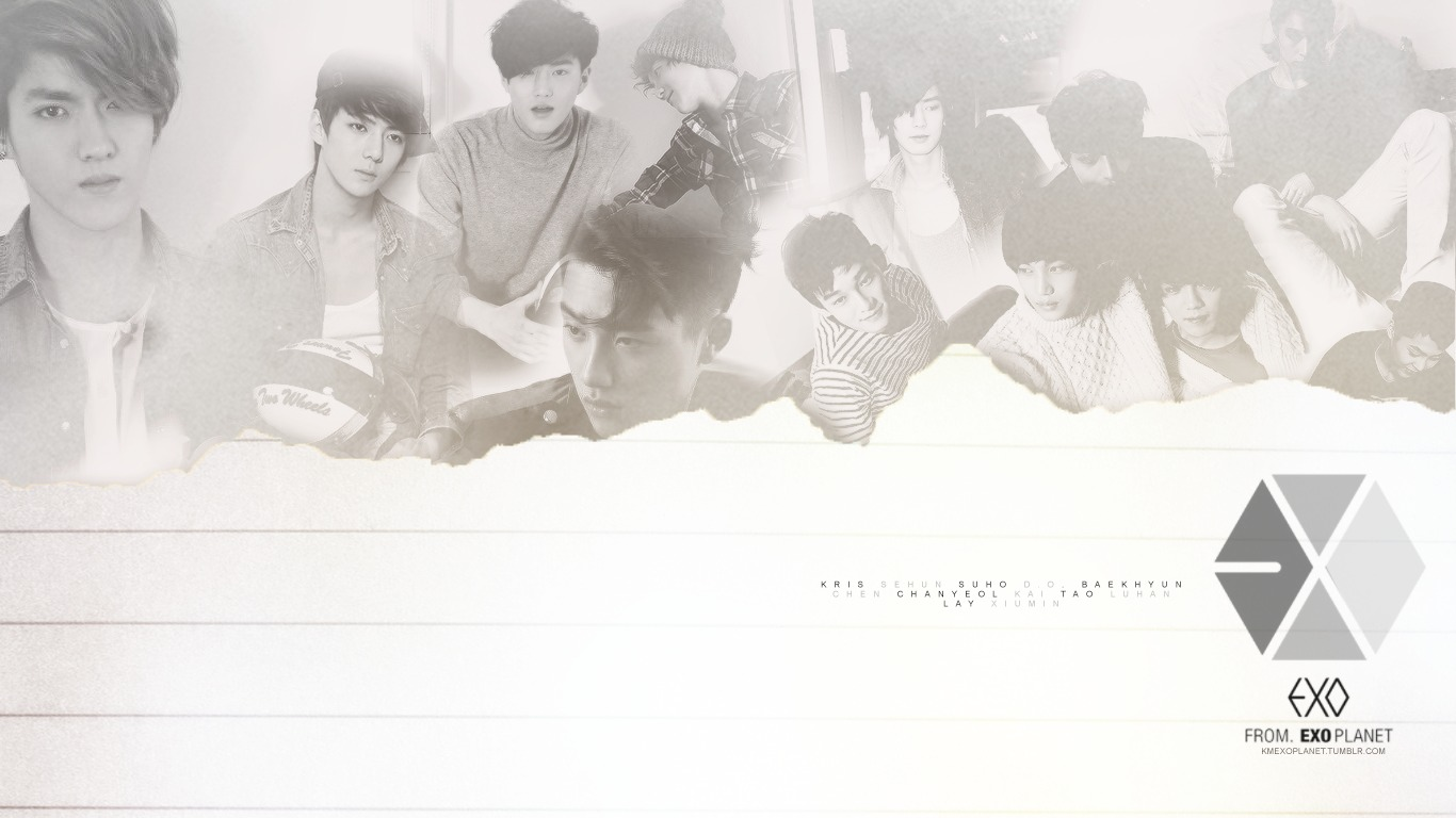 Kai Overdose Tumblr EXO Desktop Wallpaper ...