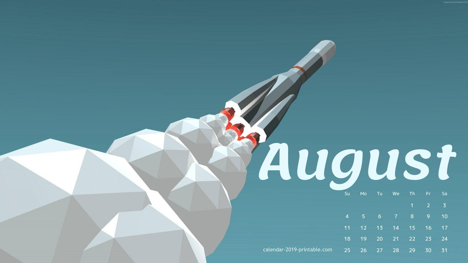 august 2019 cute calendar wallpaper 2019 Calendars Calendar 1920x1080