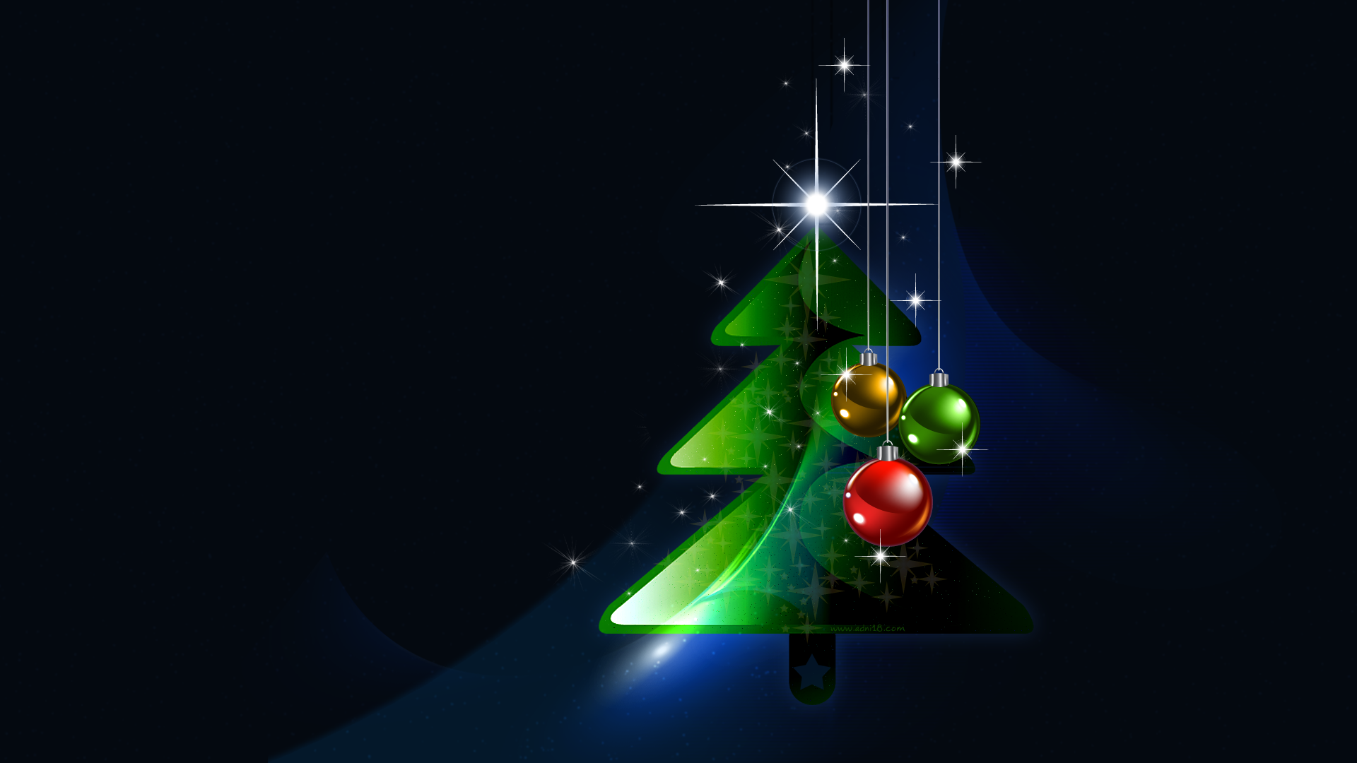 Happy New Year and Merry Christmas Desktop Wallpapers FREE on Latoro 1920x1080
