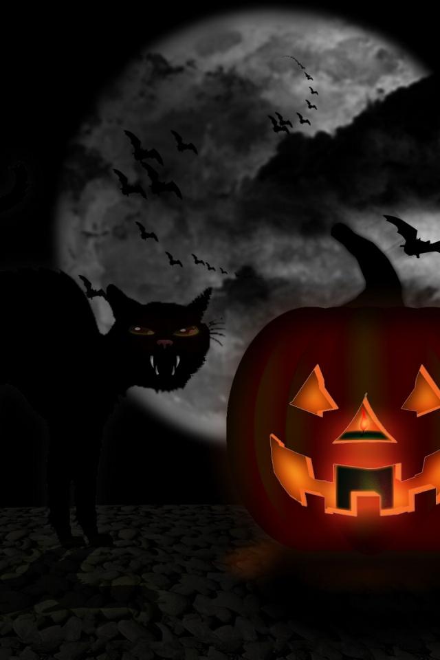 640x960 My Halloween Iphone 4 wallpaper 640x960