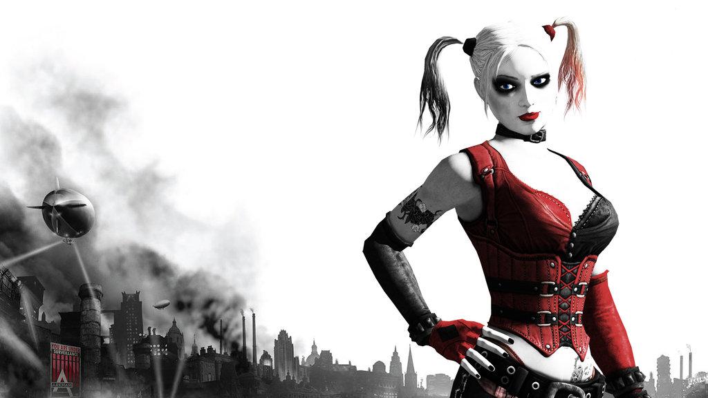 Batman Arkham City Wallpaper Arlequina: Harley Quinn Arkham City Wallpaper