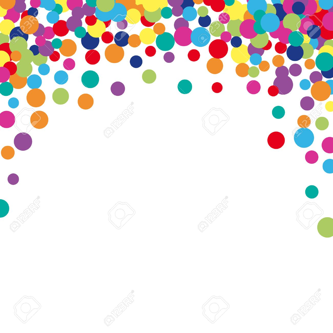 Colorful Abstract Spot Background Vector Illustration For Bright 1300x1300