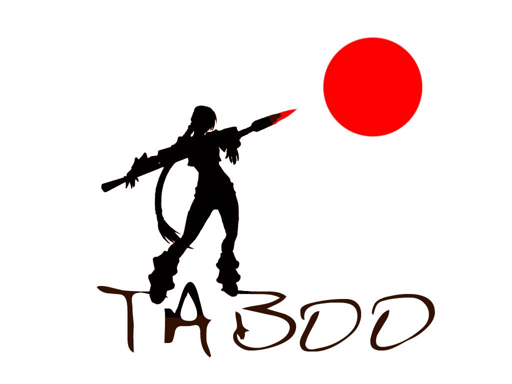 Taboo Logo Wallpaper by TabooArt 1024x768