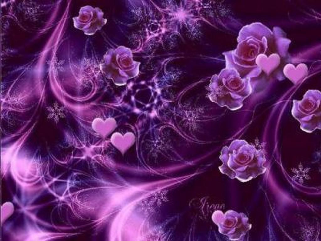 Blue and mauve wallpaper wallpapersafari - Couleur rose violet ...