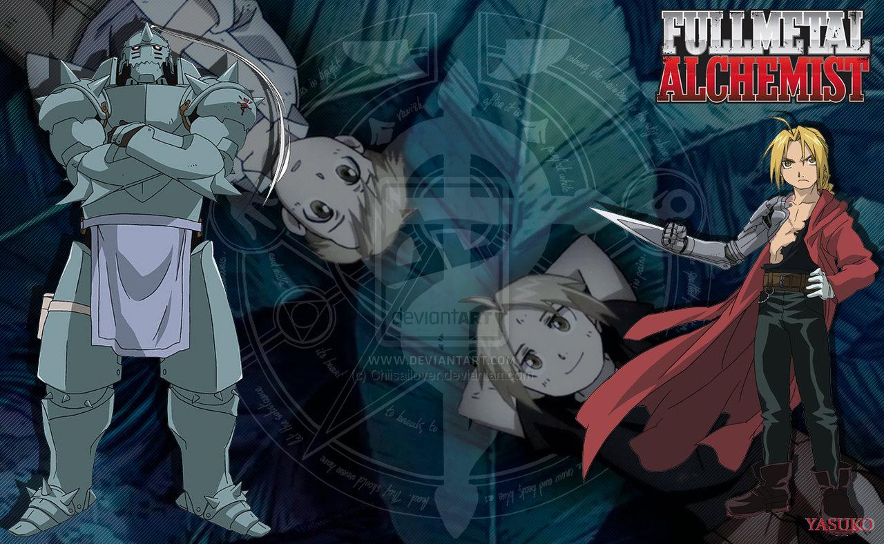 Fullmetal Alchemist Wallpaper by Chiisailover 1280x788