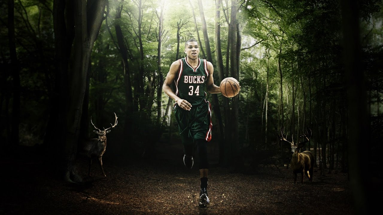 Giannis Antetokounmpo 34   First Greek NBA ALL STAR player 2017 1280x720