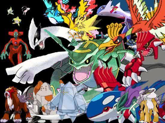 Legendary birds   Legendary Pokemon Wallpaper 6924218 [main 550x413