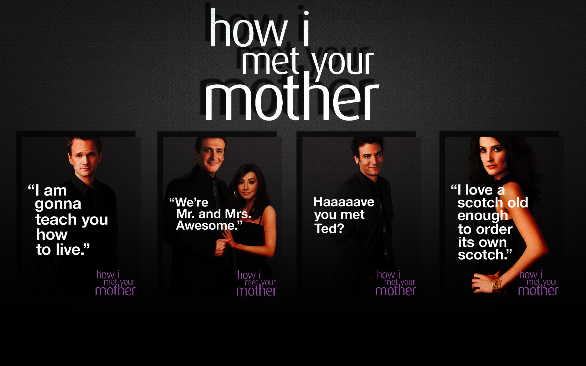 How I Met Your Mother Wallpaper 30519638 1920x1200