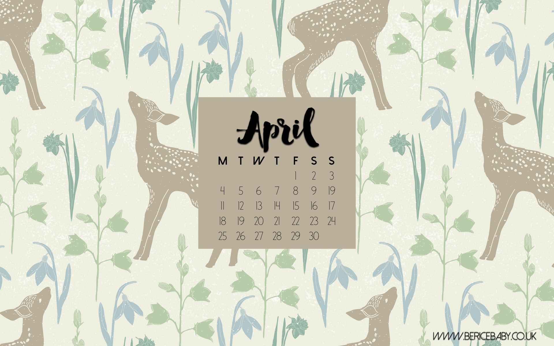 32 Desktop Wallpapers Calendar April 2017 On Wallpapersafari