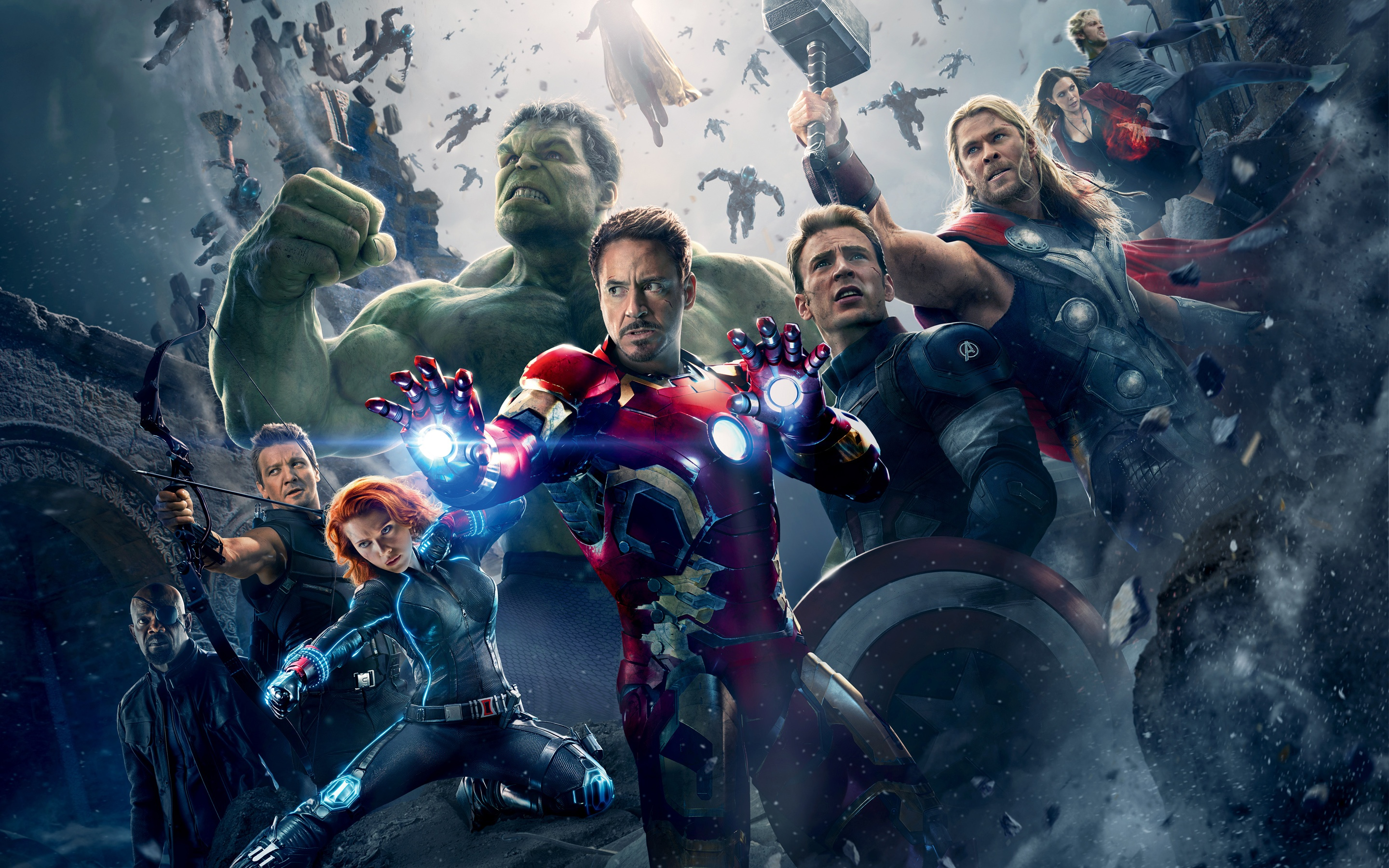 Avengers Age of Ultron Wallpapers HD Wallpapers 2880x1800