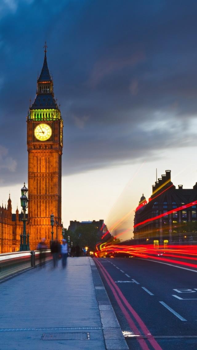 Uk London City Street iPhone 5s Wallpaper Download iPhone Wallpapers 640x1136